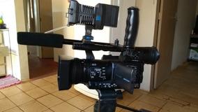 Filmadora Hmc 150 - Semi Nova - Opcional Os Acessorios