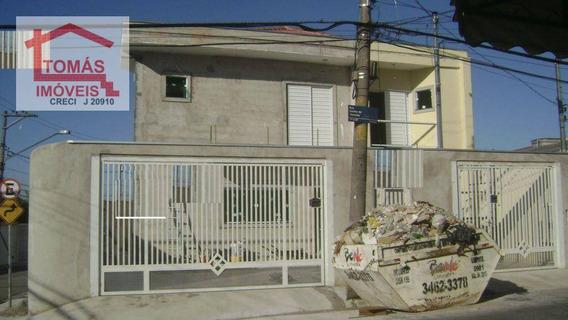 Sobrado Residencial À Venda, Pirituba, São Paulo. - So0340