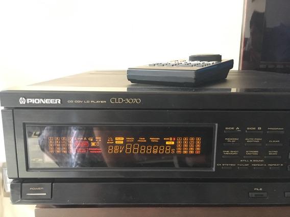 Laserdisc Pioneer Cld-3070 (defeito) C/ Controle (bom)