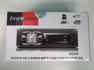 Rádio Mp3 Com Usb