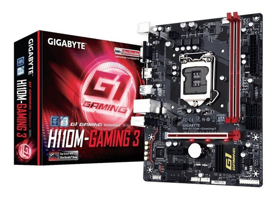 Placa Mãe Gigabyte Ga-h110m-gaming 3 Intel Lga 1151 Ddr4