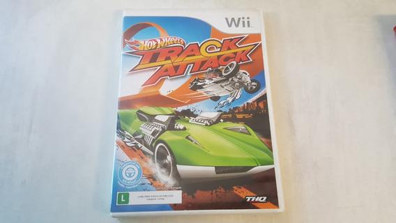 Hot Wheels Track Attack - Nintendo Wii - Original - Usado