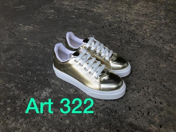 Zapatillas De Mujer - Artìculo 322