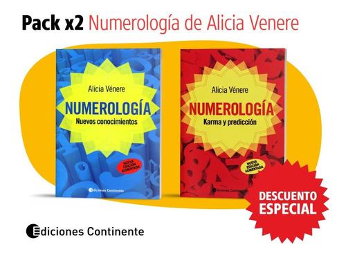 Pack 2 Libros NumeroLGía De Alicia Venere Oferta 20% Dto.