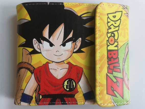 Billetera Anime Dragon Ball Goku Nueva Anime Regalo Tienda