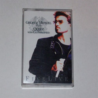 George Michael And Queen - Five Live