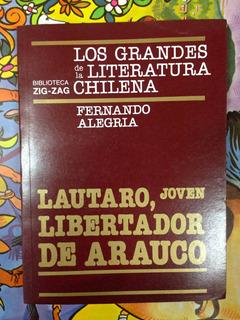 Lautaro, Joven Libertador De.. F. Alegria Volumen 9 Zig Zag