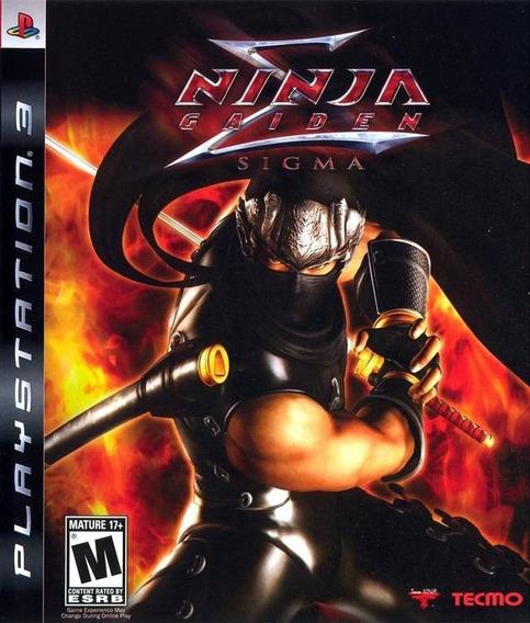 Ninja Gaiden Sigma Ps3 Digital Psn Envio Na Hora