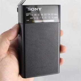 Rádio Am Fm Portátil Sony Icf-p26