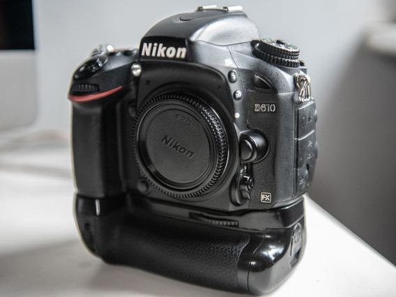 Câmera Nikon D-610 Apenas Corpo