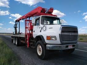 Camion Grúa Articulada Tipo Montacargas