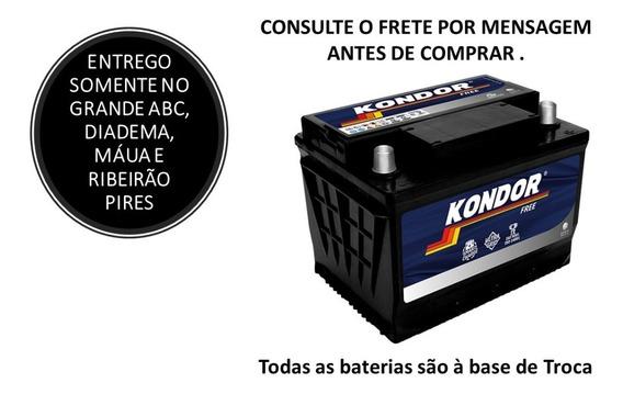 Bateria De Carro Kondor 60ah Cca 430ah