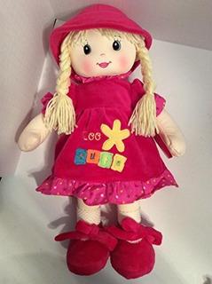Linzy Toys 18 Niobe Sweet Cakes Muñeca De Trapo Hot Pink An