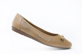 Flexi Dama Zapatos Comodos 27904 Tan 100% Originales!!