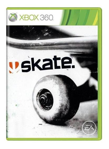 Skate Xbox 360 Mídia Física Pronta Entrega