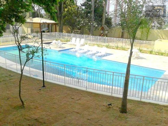 Apartamento Com 3 Dormitórios À Venda, 75 M² Por R$ 560.000 - Parque São Lucas - São Paulo/sp - Ap0336