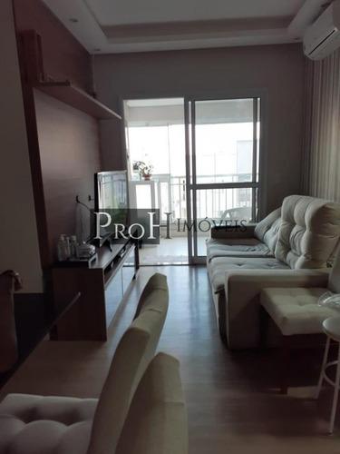 Imagem 1 de 15 de Apartamento Para Venda Em São Bernardo Do Campo, Centro, 2 Dormitórios, 1 Suíte, 2 Banheiros, 1 Vaga - Trisbcdav