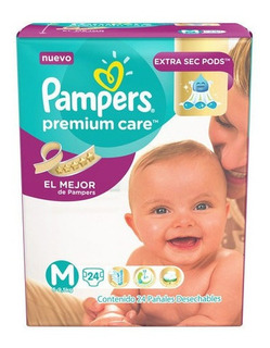 Pañal Pampers Premium Care M 20 Unidades / Superstore