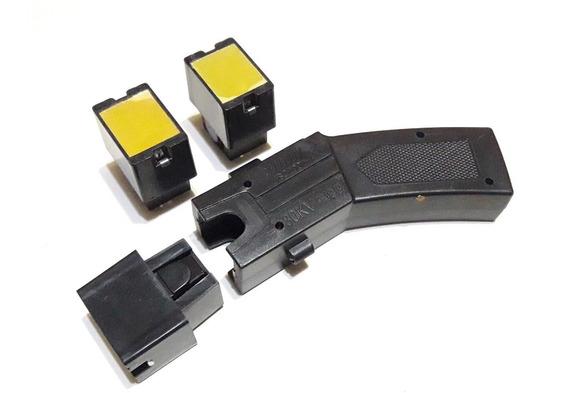 Picana Taser Policial Disparacable Voltaje 3 Cartuchos Laser
