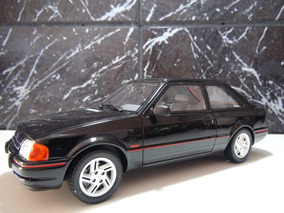 Miniatura Ford Escort Xr3 Ano 1987 Esc. 1:18 Otto Resina Pre