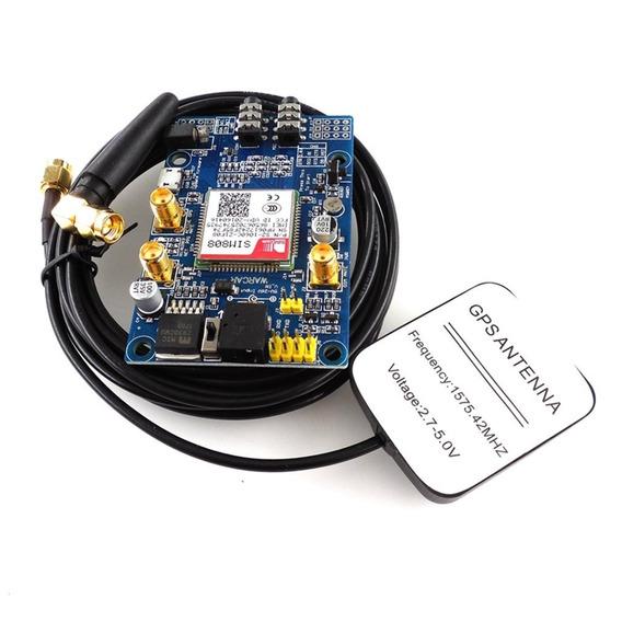 Sim808 Módulo Gsm Gprs Gps Development Conselho Ipx Sma Com