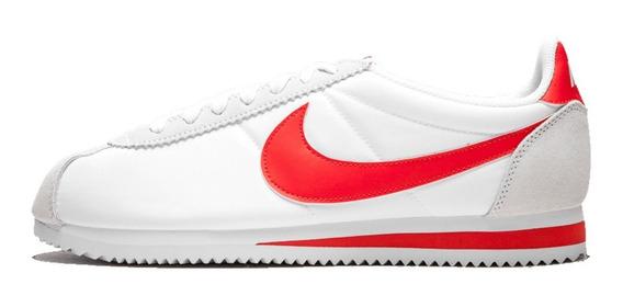 Tênis Nike Cortez Nylon Classic Red White,pronta Entrega.