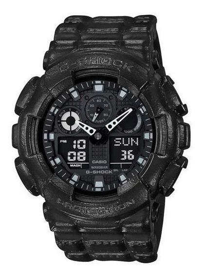 Relógio Casio G-shock Ga-100bt-1adr Masculino