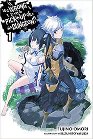 Light Novel Dungeon Ni Deai Em Inglês Volume 1-13 Digital