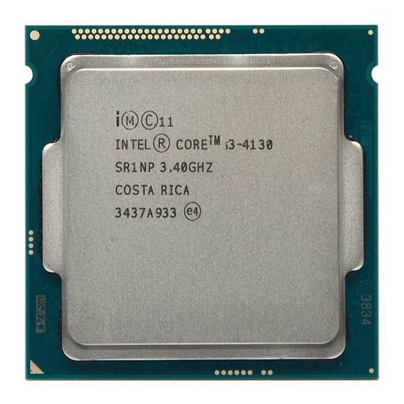 Processador Intel Core I3 4130 Lga1150 4th Gen