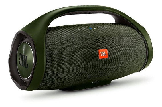 Parlante Jbl Boombox Bluetooth 60w Ipx7 Verde