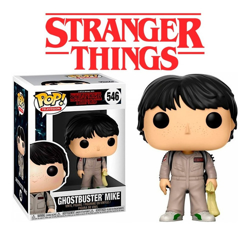 Funko Pop Mike Ghostbusters 546 Stranger Things Dustin Will