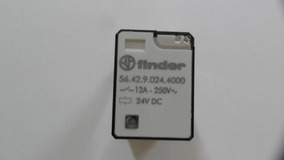 Rele 12a 250vac - Finder - 56.42.9.024.4000