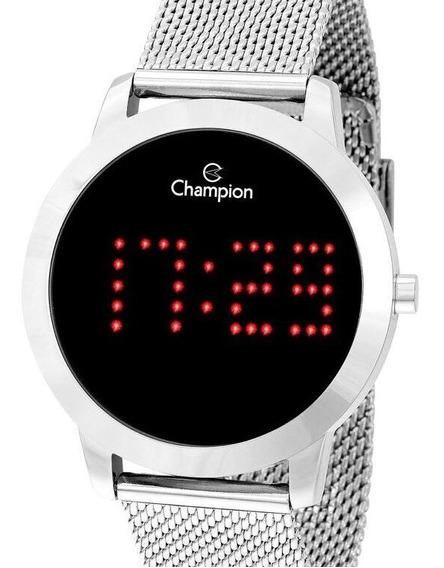 Relógio Champion Feminino Digital Prata Ch40017t - Escreve Uma Palavra