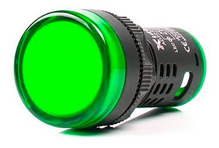 Lampara Indicadora Luz Led Piloto Empotrable 22mm 110v