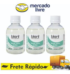 Base Verniz Extra Brilho 4free 120ml Blant Kit C/ 3 Unidades