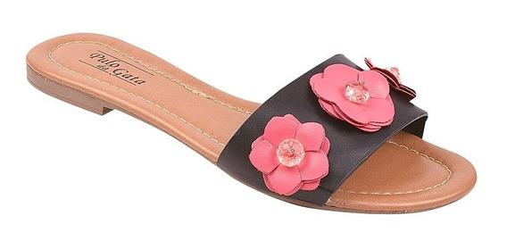 Rasteira Sapato Feminina Chinelo Pulo Da Gata