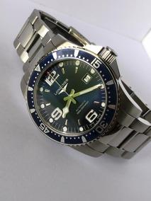 Reloj Longines Hydroconquest Automatico Caratula Azul