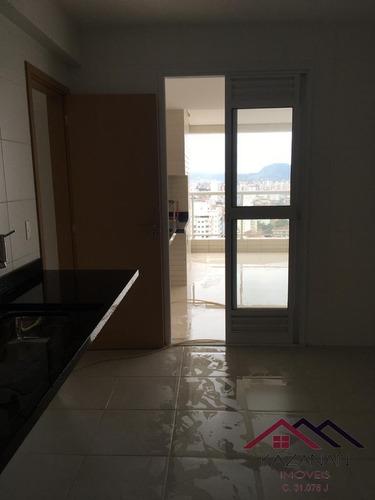 Apartamento Alto Padrão 4 Dormitorios -vila Rica  Santos - 4857