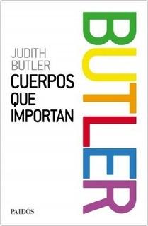 Cuerpos Que Importan - Judith Butler - Paidos - Libro Nuevo