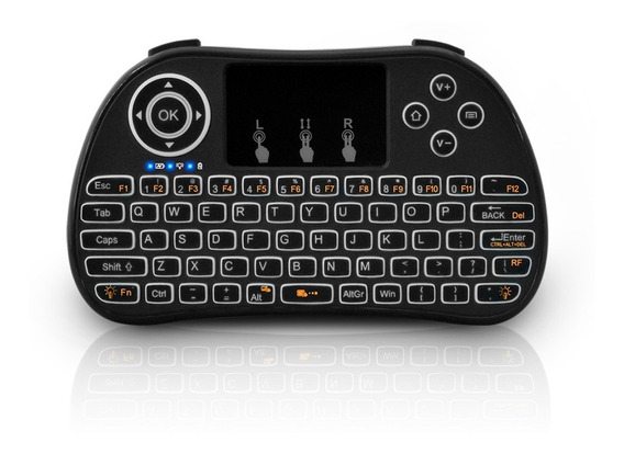 Redlemon Mini Teclado Inalámbrico Touchpad Smart Tv Consolas