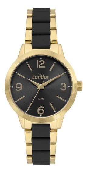 Relógio Condor Kit Feminino Dourado Co2035mrf/k5p