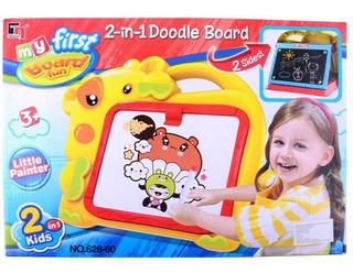 Pizarra 2 En 1 Fibras Y Tizas Doodle Board Jem