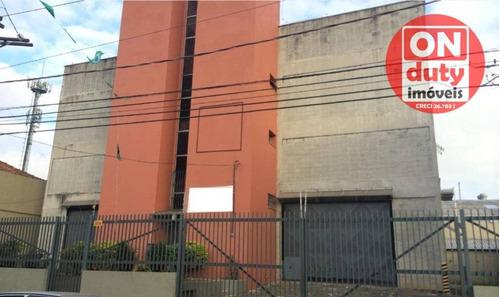 Galpão, 1000 M² - Venda Por R$ 2.500.000,00 Ou Aluguel Por R$ 23.000,00/mês - Vila Monumento - São Paulo/sp - Ga0092