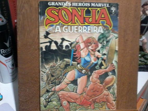Hq Sonja - A Guerreira Vol 13 - Grandes Heróis Marvel
