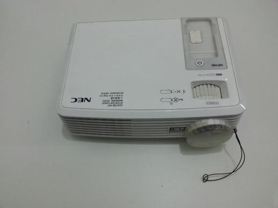 Projetor Nec Np100 Com Defeito Ler Anúncio