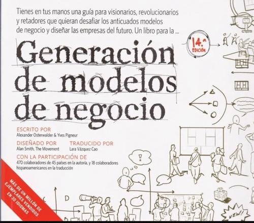 Generación De Modelos De Negocios ( Libro Nuevo Y Original )
