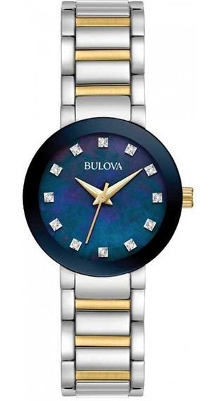Relógio Bulova Feminino Analógico 98p157