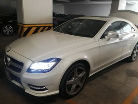 Mercedes-benz Clase Cls 4.7 500 Biturbo Mt 2013 Blindado
