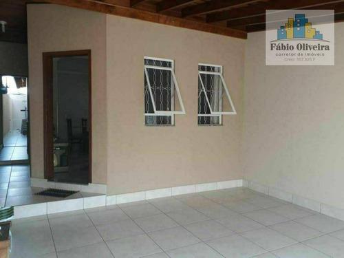 Imagem 1 de 9 de Casa Com 2 Dormitórios À Venda, 92 M² Por R$ 400.000 - Jardim Eldorado - Indaiatuba/sp - Ca0292