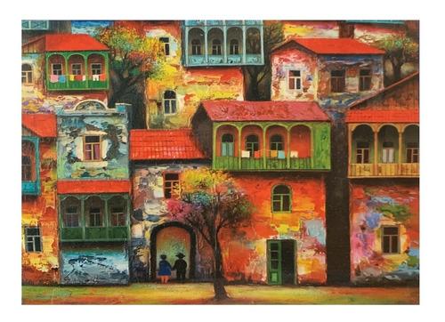 Rompecabezas Casas Pintura